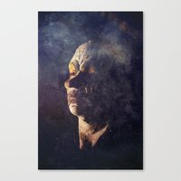 clown Canvas Prints featuring Clown by Spectacle Photo