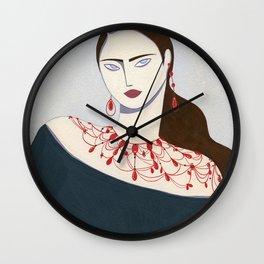 She Moves Wall Clock