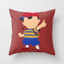 Ness(Smash) Throw Pillow