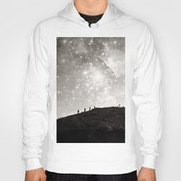 starry night Hoodies featuring Starry Night  by Laura Ruth