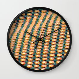 Deck Chair Abstract Wall Clock