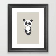 Panda bear Framed Art Print