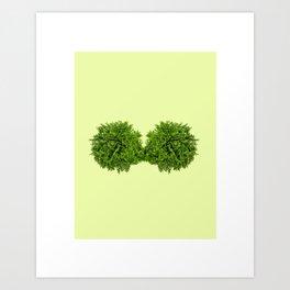 Todas somos como plantas; Si nos regamos, cuidamos y nutrimos mutuamente, todas creceremos. Art Print