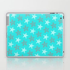 Starfish and Stripes on Sky Laptop & iPad Skin