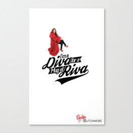 The Riva Diva Canvas Print