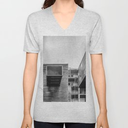 Building in Amsterdam Unisex V-Neck