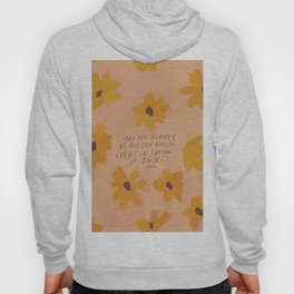 Noticing Light In The Chaos Of Things Hoody