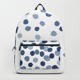 Blue Confetti Falling From the Sky Backpack