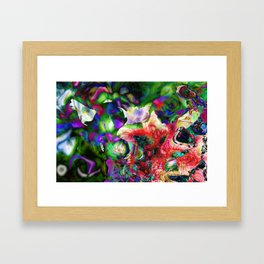 Psychedelic Persuasion Framed Art Print
