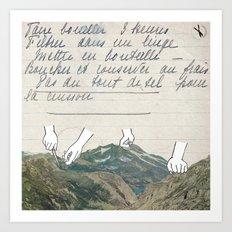 Recette Art Print