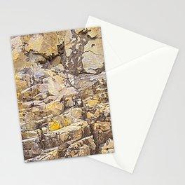 Rocky Texture Grunge Print Design Stationery Cards