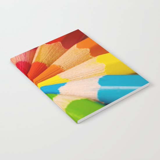 Colorful Pencils Notebook