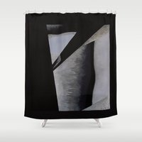 toddler Shower Curtains featuring If Only It Were So Simple by Ana Lillith Bar