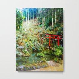 Nanzoin Temple, Fukuoka  Metal Print