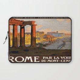 Vintage poster - Rome Laptop Sleeve