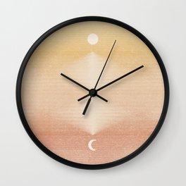Rising Moon | 2 Wall Clock