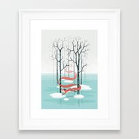 spirit Framed Art Prints featuring Forest Spirit by Freeminds