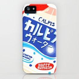 Calpis iPhone Case