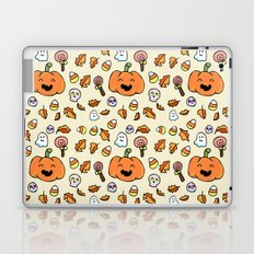 Halloween Doodles Laptop & iPad Skin