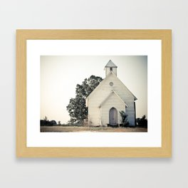 The Chapel Framed Art Print