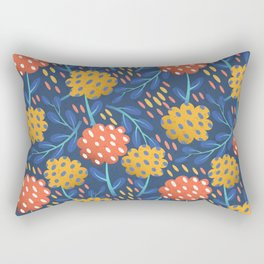 Night Bloom Rectangular Pillow