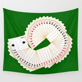 Playing Card Spread Wall Tapestry