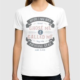 """Called"" Hand-Lettered Bible Verse T-shirt"