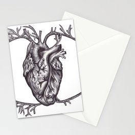 One must look with the heart Stationery Cards