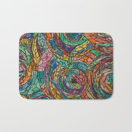 Colorful Circles Bath Mat