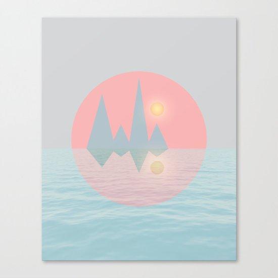Spring Landscape III Canvas Print