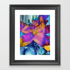 Flower Queen Framed Art Print