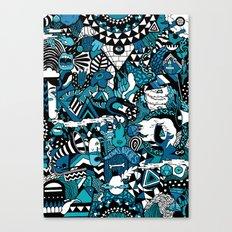 Buenas Noches Canvas Print