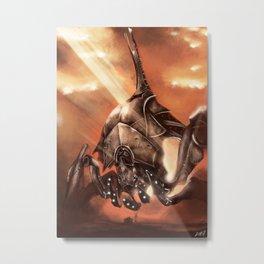 Reaper Destroyer Metal Print