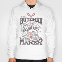 butcher billy Hoodies featuring The Butcher by Pilgrim