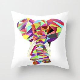 Emil Elephant Throw Pillow