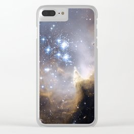 N90, NGC 602 Clear iPhone Case
