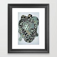 The heart of things II Framed Art Print