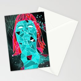 triangular stare Stationery Cards