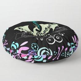 Book Dragon Floor Pillow