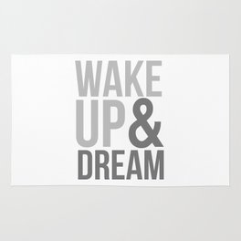 Wake Up and Dream Rug