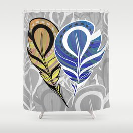 Feather me Pretty Shower Curtain