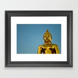 Golden Buddha 2 Framed Art Print