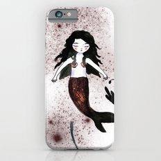 Noir Mermaid iPhone 6 Slim Case
