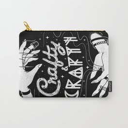 Crafty & Crafty - B&W Carry-All Pouch