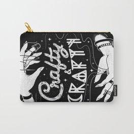 Crafty & Crafty - B&W Carry-All Pouch