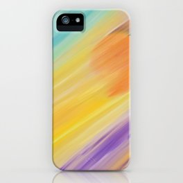 """Catch the Sun #1 – Sequel #1"" Oil Painting iPhone Case"