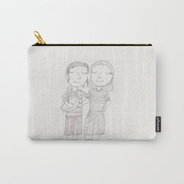 Peggy & Angie - rugby Carry-All Pouch