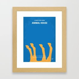 No230 My Animal House Framed Art Print