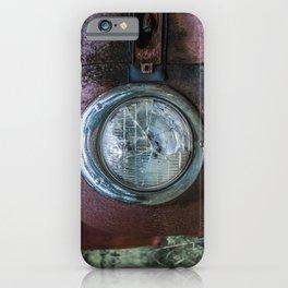 Low Beams iPhone Case