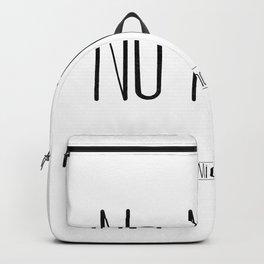 No Ni Ná - Miarma Backpack